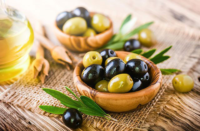 Products olive tree