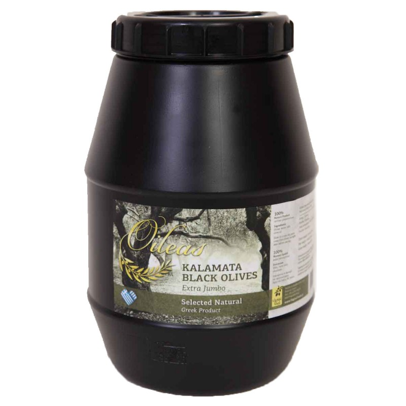 Olives black kalamon 2 kg (SUPERIOR 261-290)