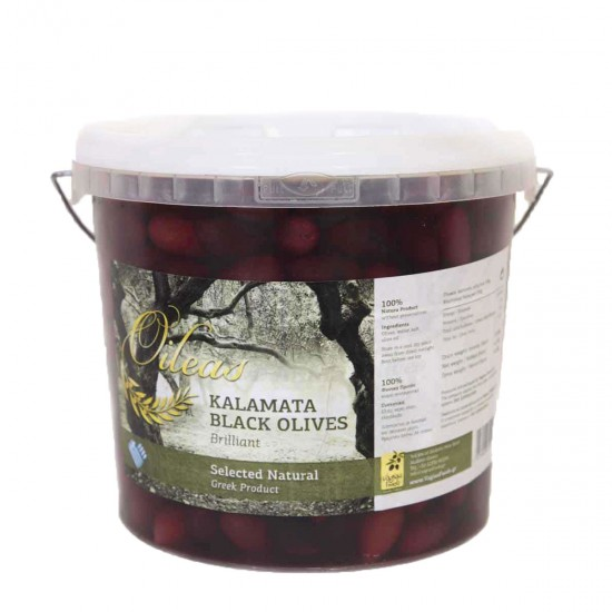 Olives black kalamon 3 kg (SUPERIOR 261-290)