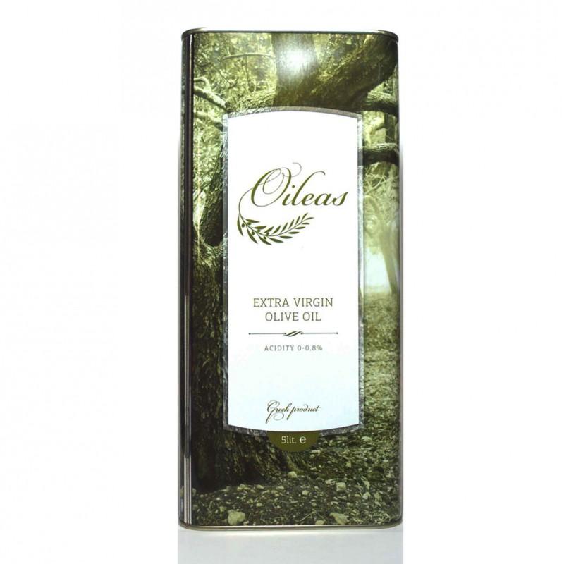 Extra virgin olive oil Oileas 5 liter