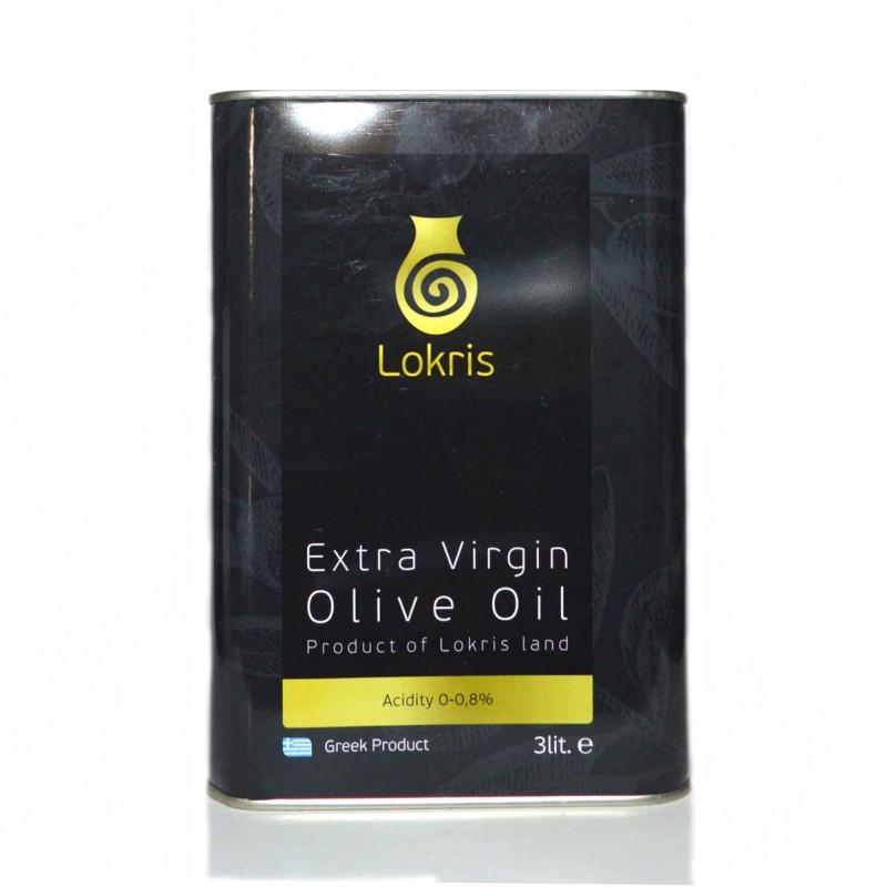 Extra virgin olive oil Lokris 3 liter