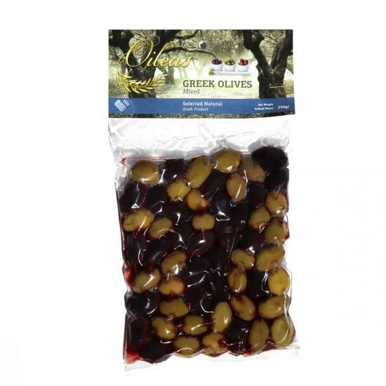 mixed greek olives 250gr
