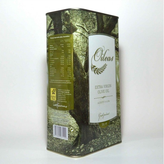 Extra virgin olive oil Oileas 3 liter