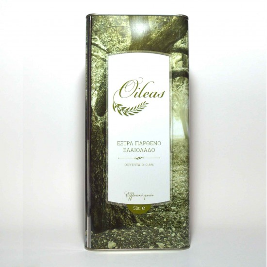 Extra virgin olive oil Oileas 5 liter